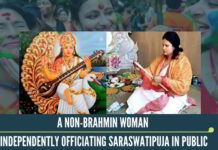 In ancient Bharat, scholar women like Ghosha, Maiytrei, Lopamudra & many other sages contributed in composing hymns of the oldest text of the world, Vedas