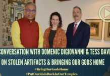 Tess and Domenic assisted in the collection of murtis and their transport back to India. In this in-depth discussion, they discuss the work that goes into ensuring that the miscreants do not get the upper hand