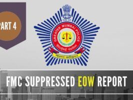 EOW report of 4/4/2015 requested FMC to look into the violations such as Code of Conduct or Licensing terms but FMC did nothing