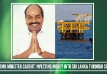 Former DMK Minister Jagathrakshakan caught investing money into Sri Lanka through Singapore