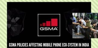 GSMA policies affecting mobile phone eco-system in India