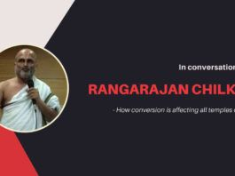 Thanks to migration and conversion, a critical component of temple utsavam is affected greatly. Rangarajan describes the issue and how viewers can help
