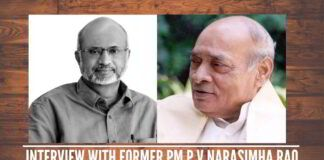 Interview with former Prime Minister P V Narasimha Rao