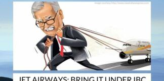 Jet Airways has already defaulted in paying loans and it has informed that it will default in making more payments which are due this month.