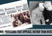 Kashmir became part of India as a consequence of the execution of the Instrument of Accession, which was unconditional.