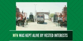 Despite repeated terrorist attacks on India, MFN status was kept alive for the sake of some vested interests