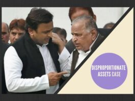 Is SP pointing fingers at Congress for having one of its alleged functionaries raking up their Disproportionate Assets case?