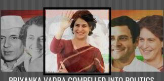 Priyanka Vadra compelled into Politics
