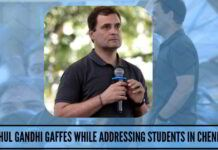 Rahul Gandhi gaffes while addressing students in Chennai