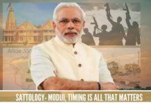 Sattology- Modiji, Timing is all that matters