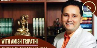 Amish Tripathi discloses the secret of his success and how he stumbled into writing. A must watch conversation for Young India, on how to pursue your dreams