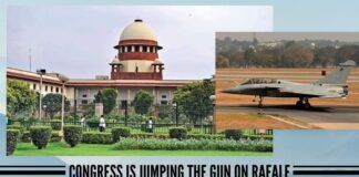 On Rafale, Congress is jumping the gun; court ruling does not indict Government