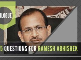 A glowing extrapolation of Ramesh Abhishek's role in Govt. does not answer these questions...