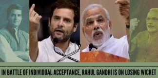 In battle of individual acceptance, Rahul Gandhi is on losing wicket