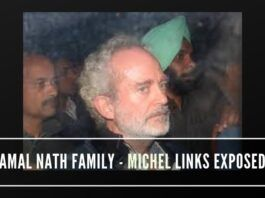 Was the Gandhi family using Kamal Nath family's business empire for routing kickback money from the main broker Michel?