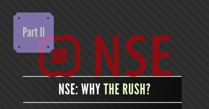 Is SEBI being pressured to close the NSE co-location scam?