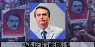 Nazis, Leftists are cousins