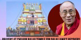 Prayers at Chilkur Balaji Temple for Dalai Lama's Recovery