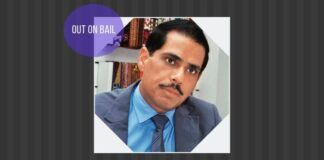Robert Vadra joins his brother-in-law and mother-in-law in being out on bail, on money laundering charges
