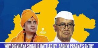 Why Congress and Digvijaya Singh are rattled by Sadhvi Pragya's entry into electoral politics
