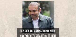 US's RICO Act against Nirav Modi, may expedite extradition to India