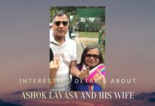 Interesting details emerge about the wife of Ashok Lavasa, the dissenting Election Commissioner and his link with Chidambaram