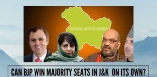 Can BJP win majority seats in J&K on its own?