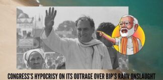 Congress's hypocrisy on its outrage over BJP's Rajiv onslaught