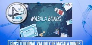 On the Constitutional validity of Masala Bonds by Kerala Government's Board in the Global Market