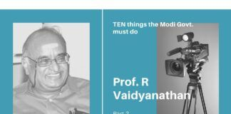 In P2 of the conversation on what Modi must do, Prof RV suggests simplifying the tax code, GST and a host of other measures, that will boost the economy.