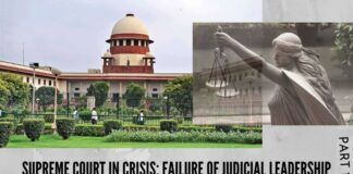 The two allegations on the Supreme Court to its integrity and credibility demand an institutional change in its functioning.