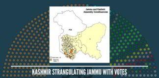 Tiny Kashmir has 3 LS & 46 assembly seats; Jammu has 2 LS & 37 assembly seats
