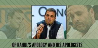 Of rahul's apology and his apologists
