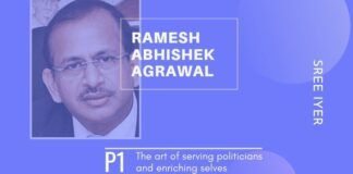 To own the properties that Ramesh Abhishek has, he would have had to work for more than 50 years and survived on air and water!