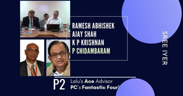 The Whistleblower terms Ramesh Abhishek as Lalu's Ace Advisor and a part of the Fantastic Four of PC