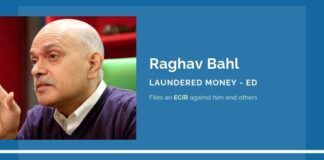 Two years after PGurus wrote about illegal FIPB clearances and money laundering by Raghav Bahl, the ED files an ECIR