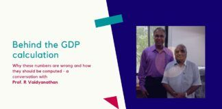 Are those computing India's GDP like Blind men in a room trying to identify an elephant that they have never seen? In how many ways can the GDP be computed? An in-depth discussion with Prof R Vaidyanathan