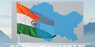 BJP set to paint Kashmir valley in Colors of India