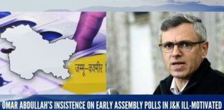 Omar Abdullah's insistence on early assembly polls in J&K ill-motivated