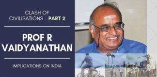 R Vaidyanathan, Clash Of Civilistions