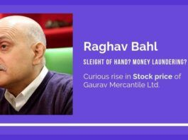 Sleight of hand by Raghav Bahl to sell his company to another of his own company? Who knew and pumped up the stock?