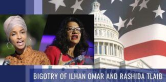 Bigotry of Ilhan Omar and Rashida Tlaib
