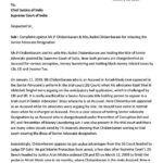 Complaint to CJI on PC Senior Advocate Designation dtd Jan 16, 2019-page-001