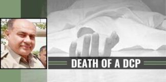 A DCP has committed suicide and left a suicide note alleging blackmail by an SHO and a journalist.