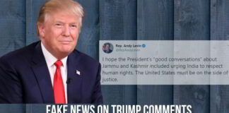 Fake News on Trump Comments