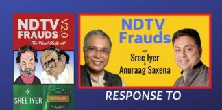 In response to NDTV's Legal notice, Author Sree Iyer stands by his book and says he is ready to face them in court