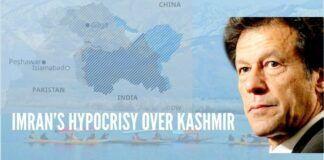 Imran's hypocrisy over Kashmir