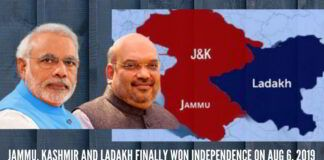Jammu, Kashmir and Ladakh finally won independence on Aug 6, 2019