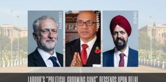 "Labour Party's ""Political Grooming Gang"" descends upon Delhi"