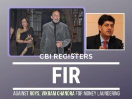 NDTV Promoters Prannoy Roy, Radhika Roy and CEO Vikram Chandra charged of Money Laundering the money of several UPA politicians